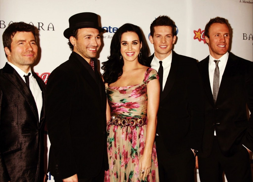 The Tenors with Katy Perry