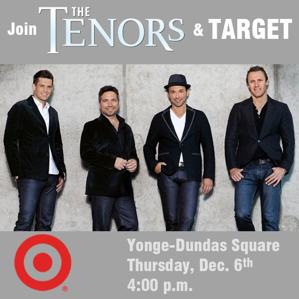 Target Presents The Tenors