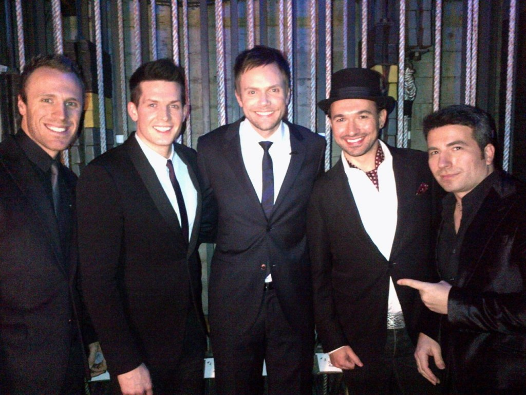 The Tenors with Joel McHale